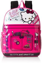 Hello Kitty Girls' Composition inch Backpack with Lunch Kit
