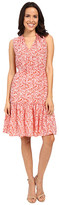 Rebecca Taylor Provence Block Print Sleeveless Dress