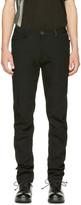 Ziggy Chen Black Straight-cut Casual Trousers