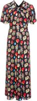 Temperley London Elixir Flutter Sleeve Dress