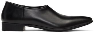 Haider Ackermann Black Babouche Loafers