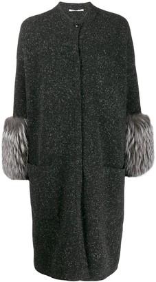 Agnona Loose-Fit Cardi-Coat