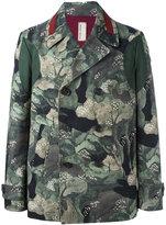Antonio Marras floral print biker jacket - men - Cotton - 50