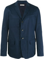 Marni unconstructed single-breasted blazer - men - Cotton - 46