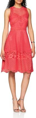 Little Mistress Women's Crochet Dress Party