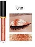 Binmer(TM) Metallic Smoky Eyes Eyeshadow Waterproof Glitter Liquid Eyeliner & Eyeshadow Pen (D)