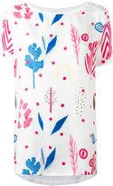 Dondup printed panel blouse - women - Silk/Cotton - M