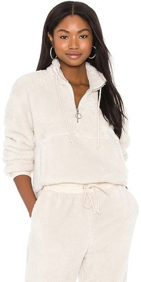 LPA Plush Zipneck Sweater