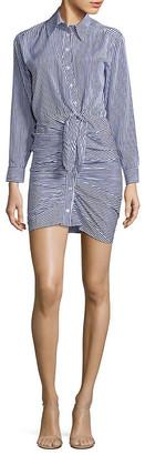 1st Sight Stripe Shirtdress
