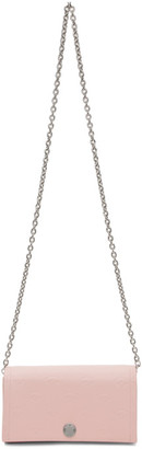 Kenzo Pink Blink Eye Chain Wallet Bag