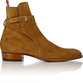 Saint Laurent Men's Hedi Jodhpur Boots-TAN