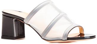 Marion Parke Bea Patent Block Heel Slide Sandal