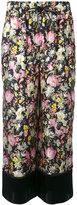 3.1 Phillip Lim cropped wide leg floral pants