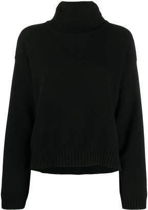 Tom Ford Cashmere High-Low Hem Jumper