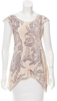Yoana Baraschi Paisley Silk Top w/ Tags
