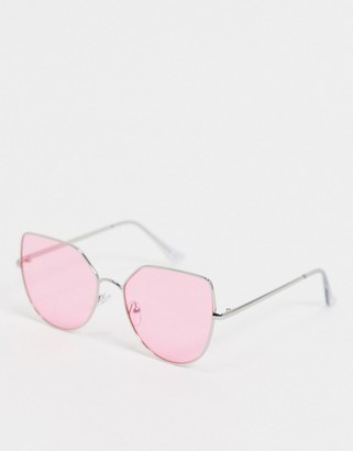 Jeepers Peepers Jeepers peeper pink tint sunglasses