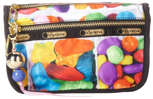 Le Sport Sac Candy Zip Cosmetic Case