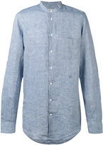 Massimo Alba striped shirt - men - Linen/Flax - L