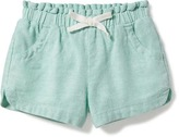 Old Navy Linen-Blend Shorts for Toddler Girls