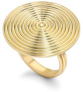 Theo Fennell Gold Whip Disc Ring