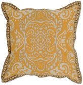 Villa Home Loreta Mango 18-Inch Square Throw Pillow