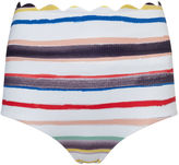 Marysia Swim Striped Sally Palm Springs Bikini Bottoms