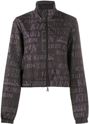 Kirin All-Over Logo Print Jacket