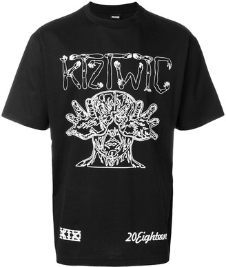 Kokon To Zai arm vision print T-shirt