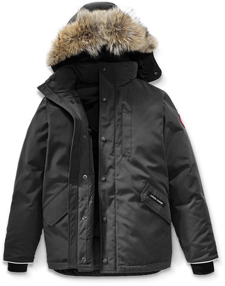 Canada Goose Boys' Logan Parka with Fur Trim, Size XS-XL