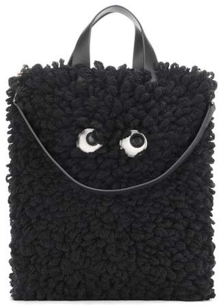 Anya Hindmarch Shag Shop wool shopper