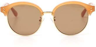 Stella McCartney Eyewear Round Tinted Sunglasses