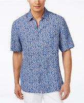 Tasso Elba Men's Scarpa Tile Short-Sleeve Shirt, Only at Macy's