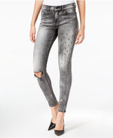 William Rast The Perfect Skinny Metaphor Wash Embellished Jeans
