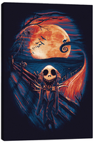 iCanvas The Scream Before Christmas (Giclee Canvas)