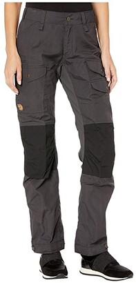 Fjallraven Vidda Pro Ventilated Trousers (Dark Grey/Black) Women's Casual Pants