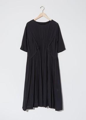 Pas De Calais Linen Ruched Dress