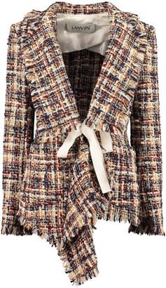 Lanvin Multicolor Tweed Jacket