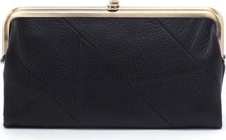 Hobo Lauren Patchwork Framed Leather Wallet