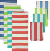 JCPenney Cabana Stripe 8-pc. Kitchen Towel and Dishcloth Set