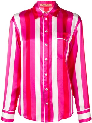 Maggie Marilyn Pyjama Style Striped Top