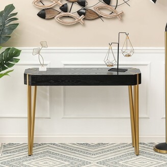 Winsome House Wood and Metal Console Entryway Table