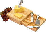 Picnic Time Festiva Cheeseboard with Tools