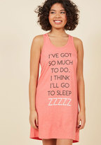 ModCloth Systems Dozer-Load Nightgown in S
