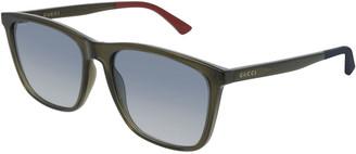 Gucci Men's GG0404S007M Injection Sunglasses - Gradient