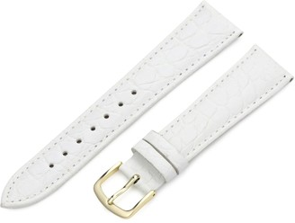 Hadley Roma Hadley-Roma 16mm 'Men's' Leather Watch Strap