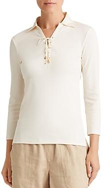 Ralph Lauren Ralph Lace-Up Collared Shirt