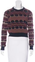 Rochas Intarsia Wool Sweater