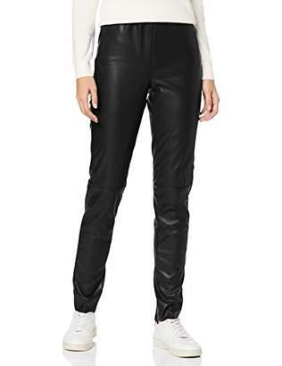 M·A·C MAC Jeans Women's Legging Leather (Black 090), W32/L28 (Size: 42/28)