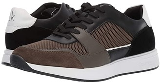 Calvin Klein Dudley (Black/Camouflage Silky Suede/Smooth Calf/Nylon) Men's Shoes