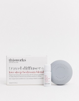 This Works Travel Diffuser + Love Sleep Bedroom Blend 10ml